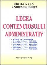 legea contencios